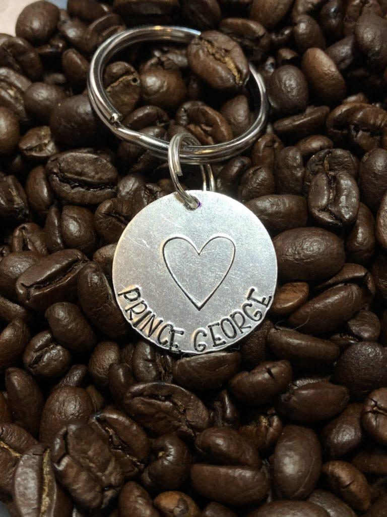 Hearts PG Keychain