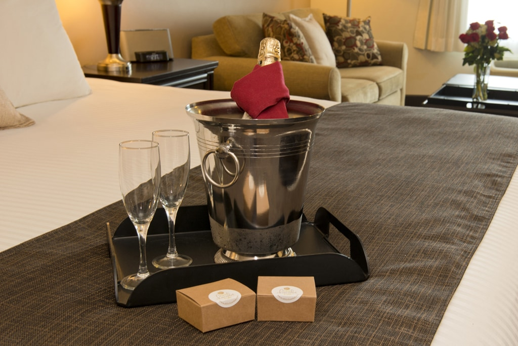 The romance package at the Prestige Treasure Cover Resort in Prince George