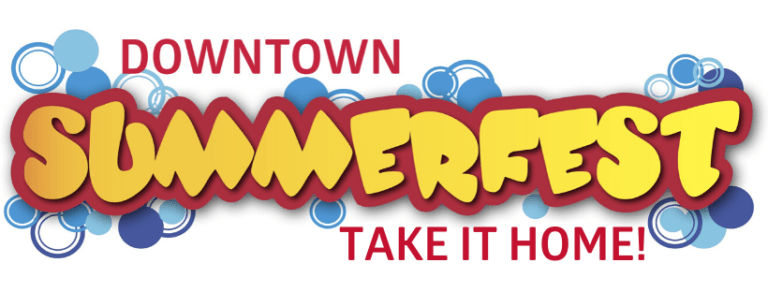 Image of the Downtown Summerfest Take It Home! logo.