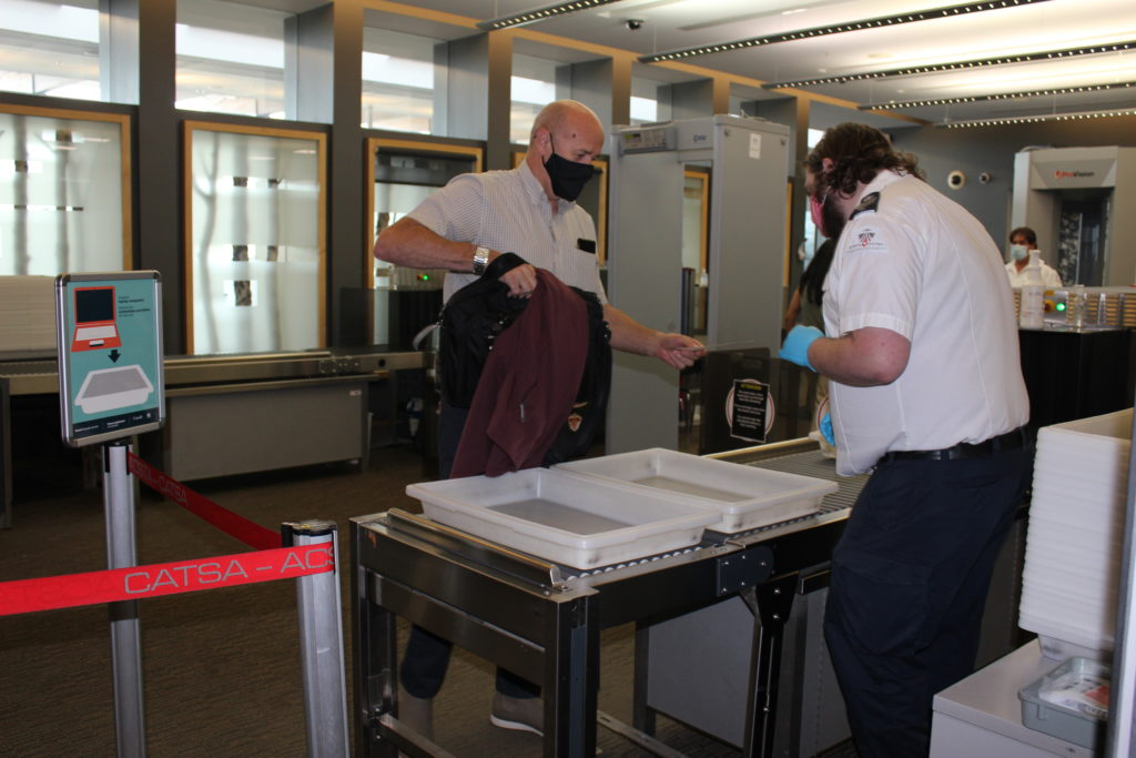 New screening protocols at the Prince George Airport.