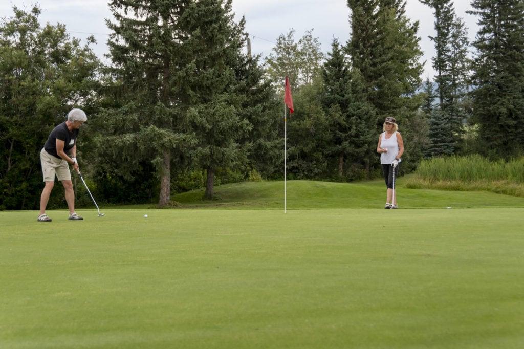 Prince George golf course