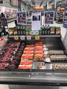 Mike Benny Day display at Save on Foods