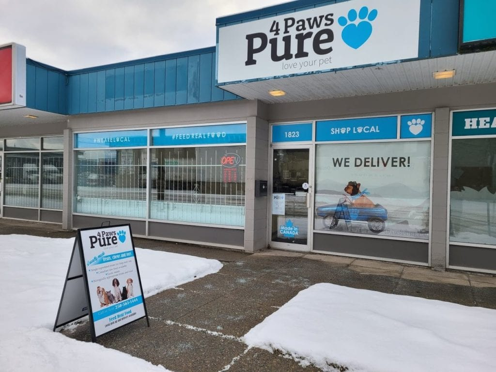 4 Paws Pure storefront